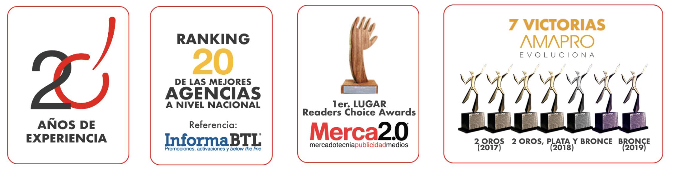 agencia de marketing premios